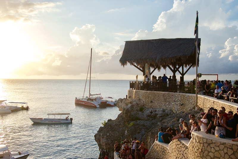 Cliff Jumpers at Rick's Cafe on Negril's West End